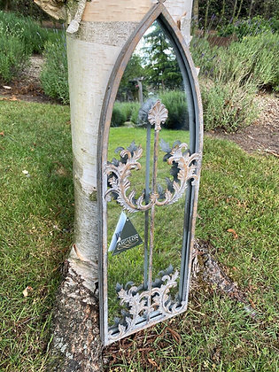 Arched Garden Grey Gustav Mirror