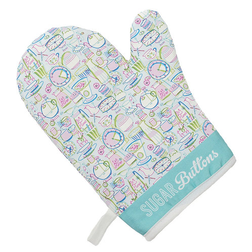 Sugar Buttons Cotton Oven Glove