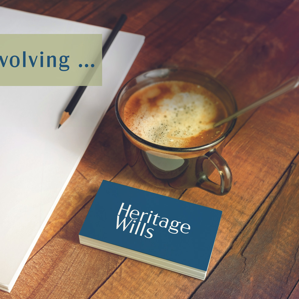 Heritage Wills Brand Refresh