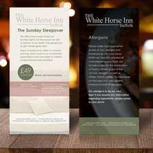 White Horse Inn Sunday Sleepover Table Talkers
