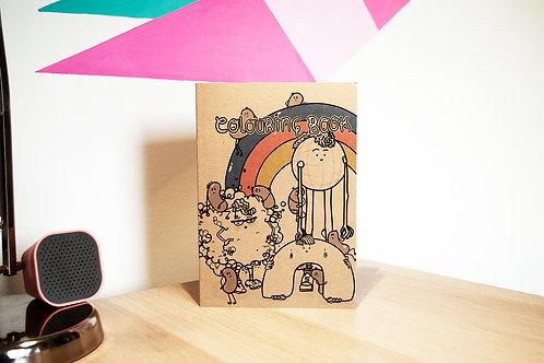 A5 colouring book
