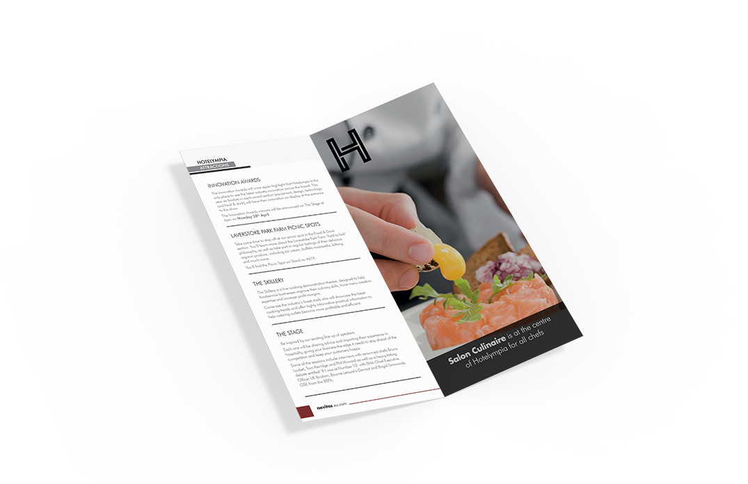 Hotelympia DL booklet