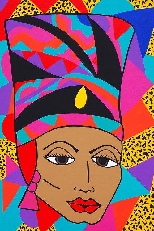 """""""Queen Nefertiti"""" Original"""