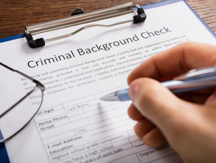Tip of the week: Be deliberate with background checks