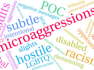 Breaking the culture of microaggressions