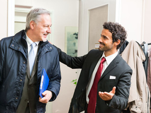 Tip of the week: Ask the interviewee if he or she prefers to keep the door open or closed