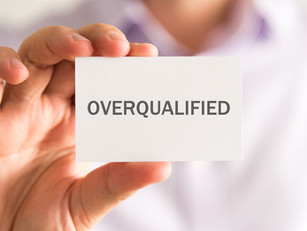 """Tip of the week: """"Overqualified"""" is not a thing"""
