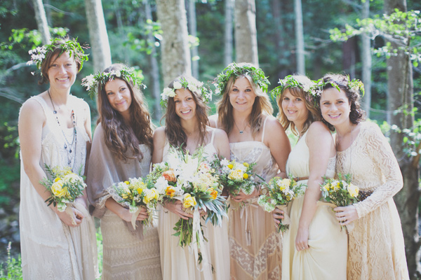 Bohemian Bridesmaid Dresses Different Styles Weddings Dresses