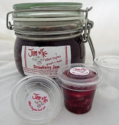 Individual jam portion pots