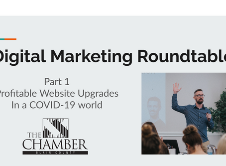 Episode 1:  Your Profit First Website Strategy - Digital Marketing Roundtable