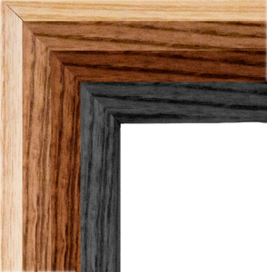 Four Wood Frame Options