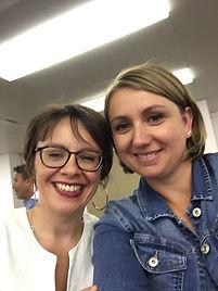 """Eloïse PINTO, Harmonie Mutuelle & Karen CHADELAUD, lauréate du prix """"Coup de Coeur Nouvelle Aquitaine 2019"""""""
