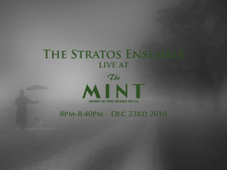 LIVE - December 23rd (Tomorrow) at The Mint