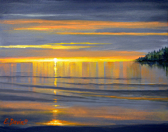 """""""Reflections""""  Oil, Sold"""