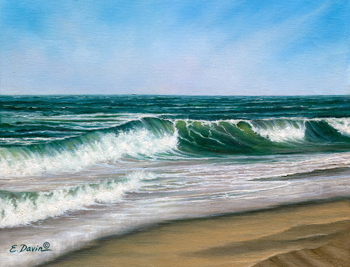 """""""Serenity""""  Oil, Sold"""