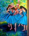 """Blue Dancers"""