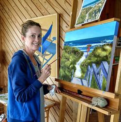 Jennifer's Seascape Painting