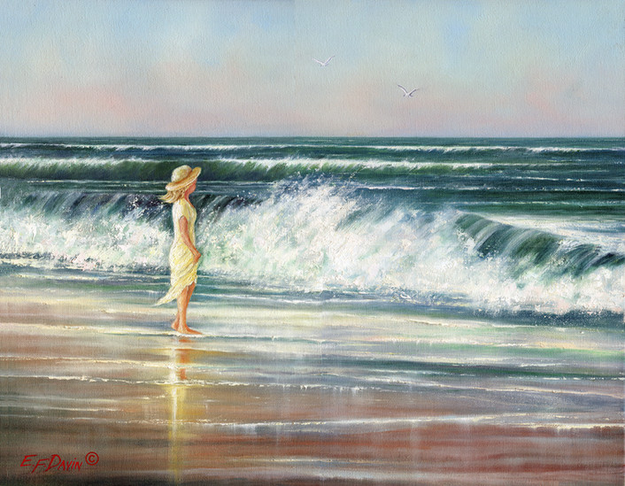 """""""What A Beautiful Day""""  Oil, 16 x 20, $975"""