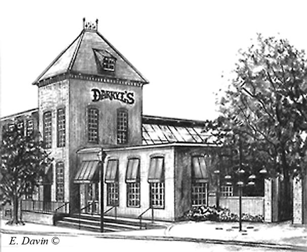 """Daryll's Restaurant""  Pencil, Winston Salem, NC"