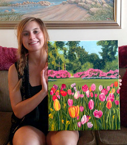 Katy's Airlie Gardens Painting