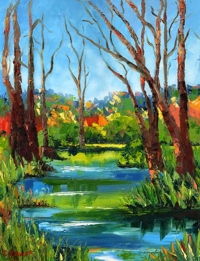"""Spring""  Oil, 16 x 20, Sold"