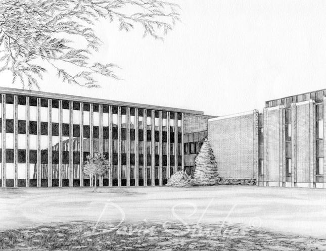 """""""Xerox, Webster, NY"""" Pencil"""