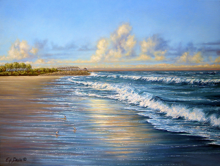 """""""Fort Fisher""""  Oil, Sold"""