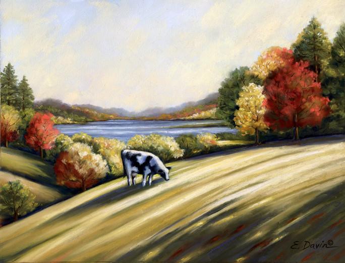 """Just Grazin""  Pastel, 12 x 16, $750 Framed"