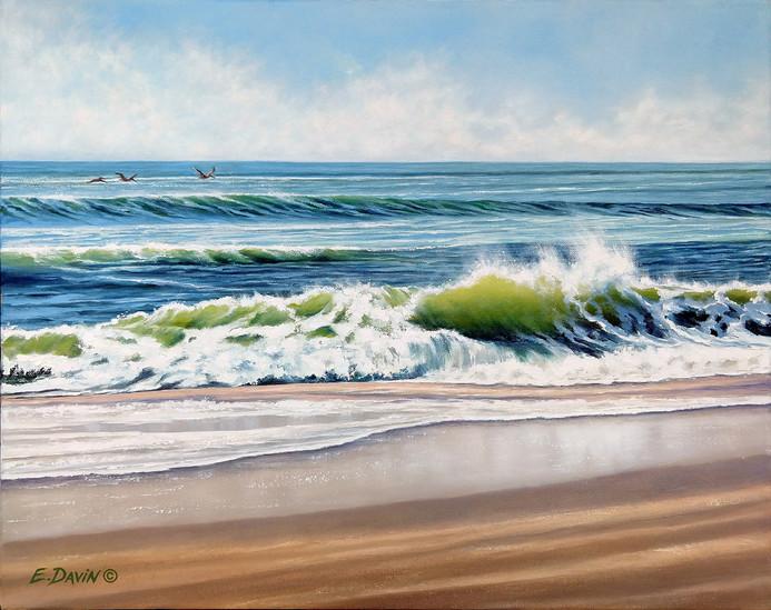"""""""Summer Breeze""""  Oil, 16 x 20, $975"""