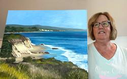 Sandy's California Coast Painting
