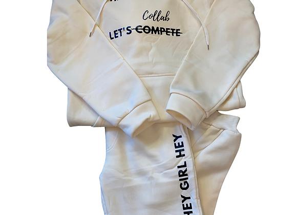 Collaboration Sweat Suit (Cream)