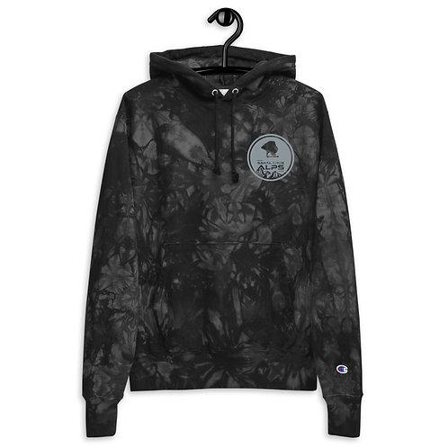 Unisex Alps tie-dye hoodie
