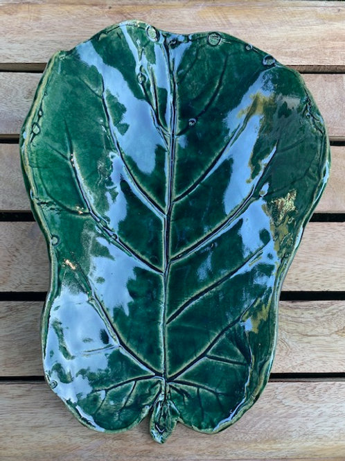 Fig Leaf Dish