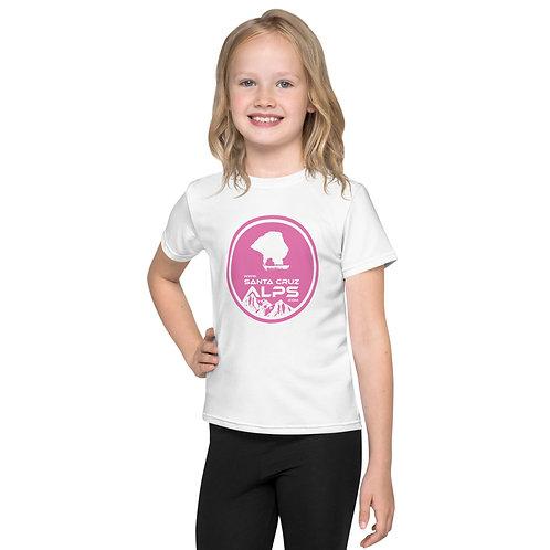 Kids crew neck Alps t-shirt
