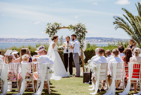 Ceremony in alvor Pestana