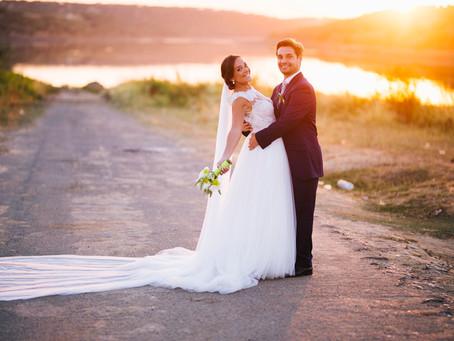 Romantic wedding in Moura Alentejo