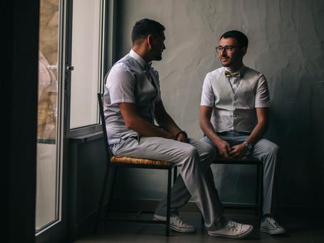 Elegant same sex wedding in Quinta dos Is