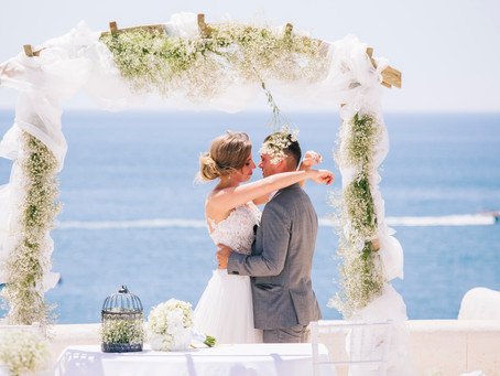 Destination Wedding in Lady of the rock and Monchique