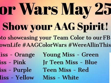 AAG Color Wars!