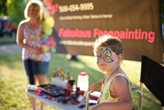 The Fabulous Facepainting Booth!