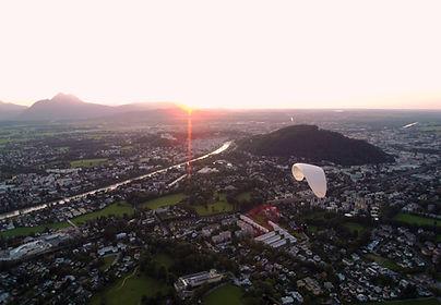 Tandemparagleiten Gaisberg Salzburg Stadt