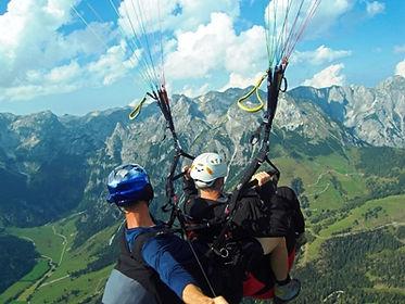 Tandemparagleiten Paragleiter Bischling Werfenweng TandemflugFlyMozart Salzburg 20