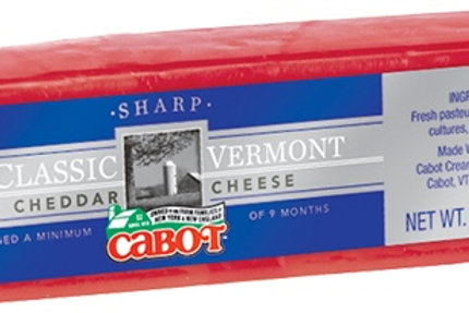 Cabot Waxed Cheddar 80z