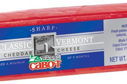 Cabot Waxed Cheddar 80z