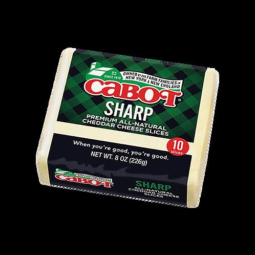 Sharp White Cheddar Sliced