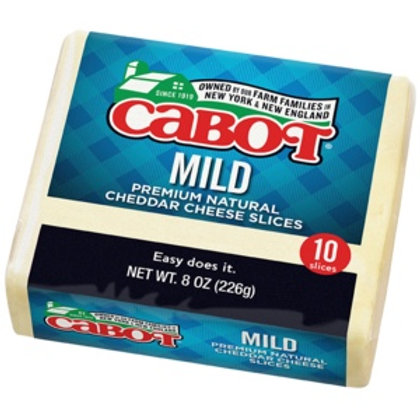 Cabot Mild Sliced Cheddar