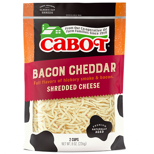 Bacon Cheddar Shreds