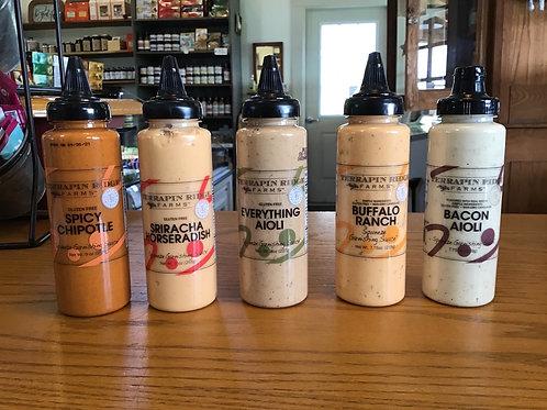 Buffalo Ranch Squeeze Garnishing Sauce