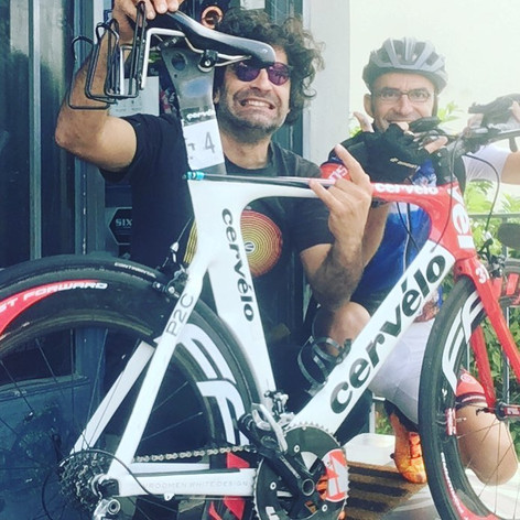 The Legendary Stamatis Romas Cervelo rider