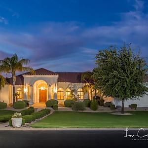 Twilight Real Estate Shoot
